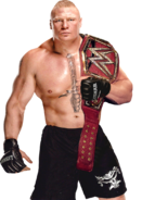 Brock lesnar wwe universal champion by nibble t-dbfqwqo