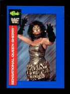 1991 WWF Classic Superstars Cards Sensational Queen Sherri 56