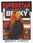 2016 WWE Heritage Wrestling Cards (Topps) Becky Lynch 42