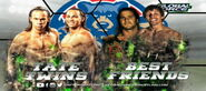 GFW Grand Slam Tour 2015 Day2 Tag Team Match (Tate Twins vs Best Twins)