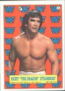1987 WWF Wrestling Cards (Topps) Sticker Ricky Steamboat 15