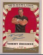 2016 Leaf Signature Series Wrestling Tommy Dreamer 84
