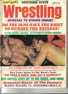 Sports Review Wrestling - January 1973