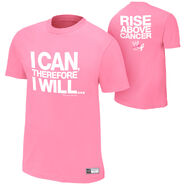 Damien Sandow Rise Above Cancer T-Shirt