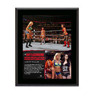 Divas Triple Threat Match Battleground 10.5 x 13 Photo Collage Plaque