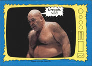 1987 WWF Wrestling Cards (Topps) George Steele 69