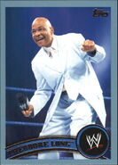 2011 WWE (Topps) Theodore Long (No.77)
