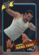 2008 WWE Heritage III Chrome Trading Cards Jimmy Wang Yang 47