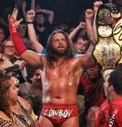 Cowboy James Storm as TNA CHAMPION