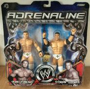 WWE Adrenaline Series 13 Sylvain Grenier & Rob Conway