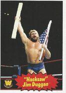 2012 WWE Heritage Trading Cards Jim Duggan 77