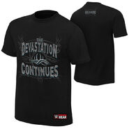 Goldberg Devastation Continues Youth Authentic T-Shirt