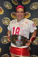 Maximo CMLL world hevy champion