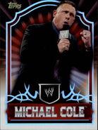 2011 Topps WWE Classic Wrestling Michael Cole 46