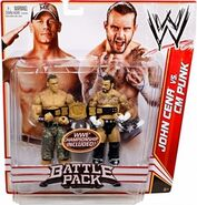 WWE Battle Packs 17 John Cena & CM Punk
