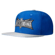 WrestleMania 32 Navy Snapback Hat