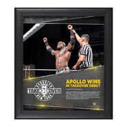 Apollo Crews NXT TakeOver Brooklyn 15 x 17 Photo Collage Plaque