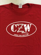 CZW Red Logo T-Shirt