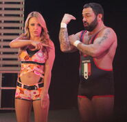 WWE Santino Emma