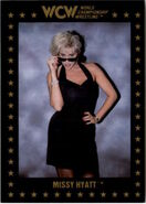 1991 WCW Collectible Trading Cards (Championship Marketing) Missy Hyatt 100