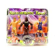 WWE Treacherous Trios 7 Mark Jindrak, Booker T, & Kurt Angle