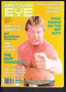 Wrestling Eye - April 1987