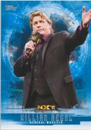 2017 WWE Undisputed Wrestling Cards (Topps) William Regal 60