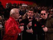 Vince McMahon, Bobby Heenan & Rob Bartlett