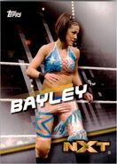 2016 WWE Divas Revolution Wrestling (Topps) Bayley 39