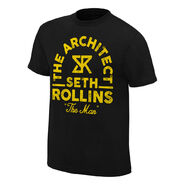 Seth Rollins The Man Vintage T-Shirt