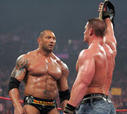 Batista & John Cena