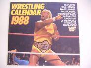 Wrestling Calendar 1988