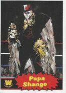 2012 WWE Heritage Trading Cards Papa Shango 96