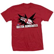 The Blossom Twins British Bombshells Red Shirt