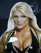 Beth autographed 8x10