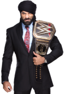Jinder mahal wwe champion by nibble t