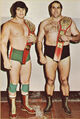 Dino Bravo and Dominic DeNucci