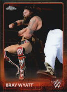 2015 Chrome WWE Wrestling Cards (Topps) Bray Wyatt 10