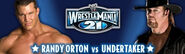 WM21 Orton vs Undertaker