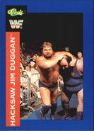 1991 WWF Classic Superstars Cards Hacksaw Jim Duggan 116