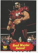 2012 WWE Heritage Trading Cards Animal 100