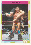 1995 WWF Wrestling Trading Cards (Merlin) Tatanka 157