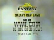 WWE Fantasy Salary Cap Game