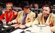 Jim Ross, Jerry Lawler & Michael Cole