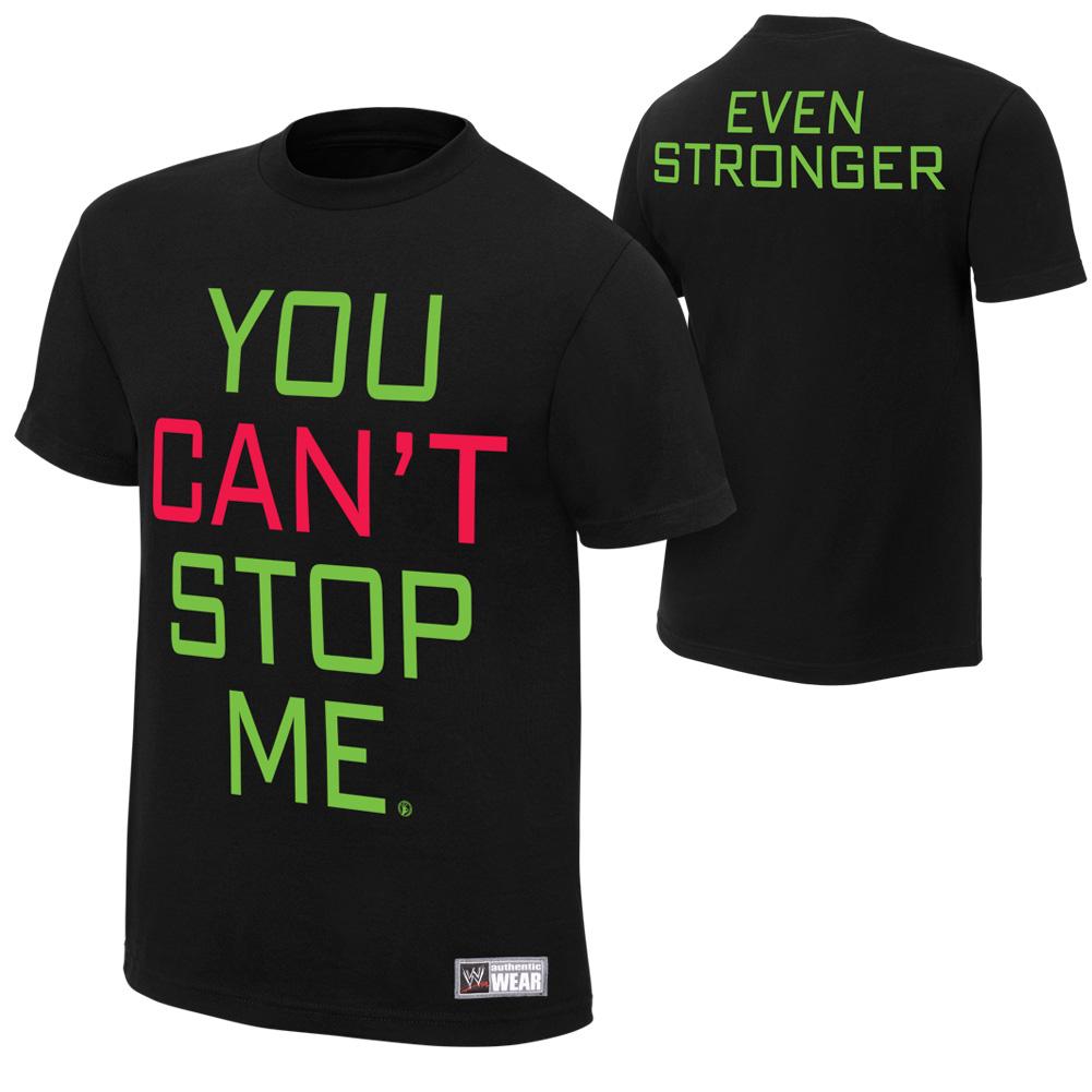 Image - John Cena You Can't Stop Me T-Shirt.jpg   Pro ...