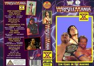 WWF Wrestlemania X - Cover