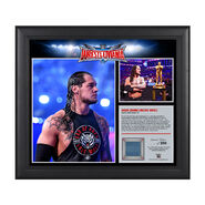 Baron Corbin WrestleMania 32 15 x 17 Framed Ring Canvas Photo Collage