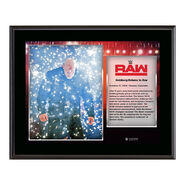 Goldberg Return to RAW Commemorative 10 x 13 Photo Plaque