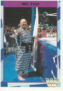 1995 WWF Wrestling Trading Cards (Merlin) Mr. Fuji 64