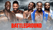 WWE Battleground 2015 - Tag Team Championship